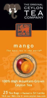 (25ct) Mango Tea