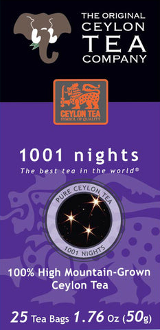1001 Nights 25 Tea Bags Clearance Sale