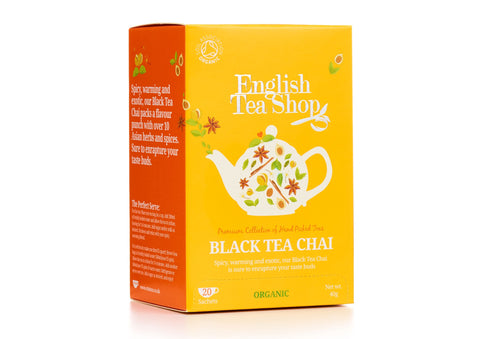 Organic Black Tea Chai 20ct