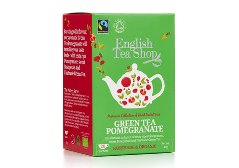 ORGANIC Green Tea Pomegranate 20ct
