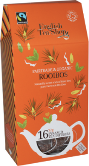 (16 CT) Rooibos Silken Infuser Cathedral Pack