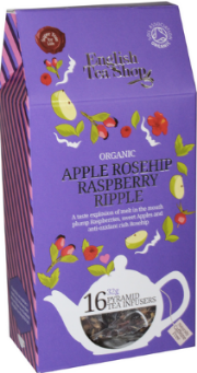 (16 CT) Apple Rosehip Raspberry Ripple Silken Infuser Cathedral Pack