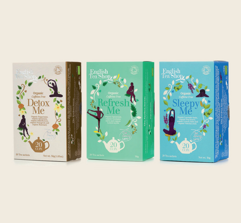 Collection of 3 Wellness Teas