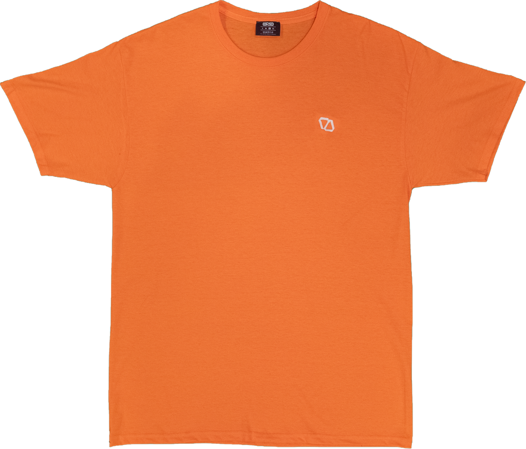 ELEVATOR Embroidered Orange Tee