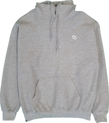 ELEVATOR Embroidered Grey Hoodie