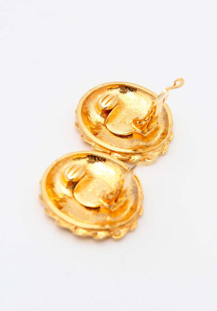 stylish hoops gold pin jewelry women for earrings woman