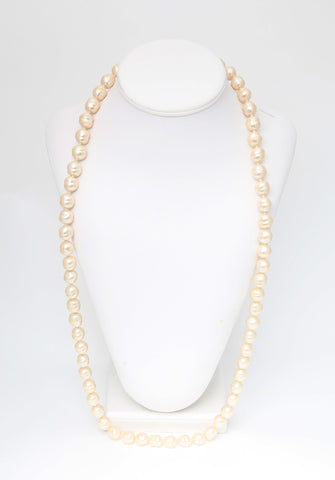 Vintage Chanel Pearl Sautoir Necklace
