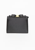 Authentic Salvatore Ferragamo Bow Evening Clutch Bag