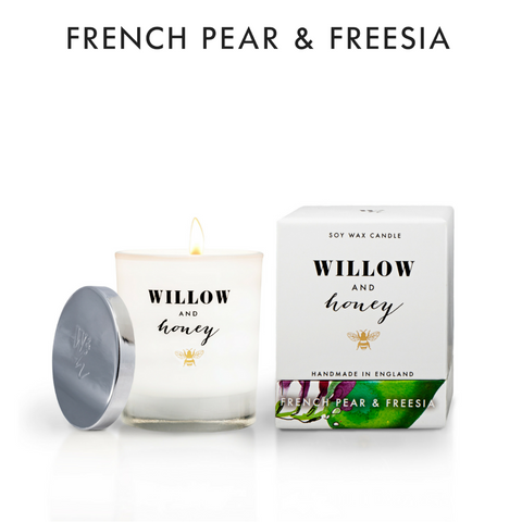 220g French Pear & Freesia Soy Candle