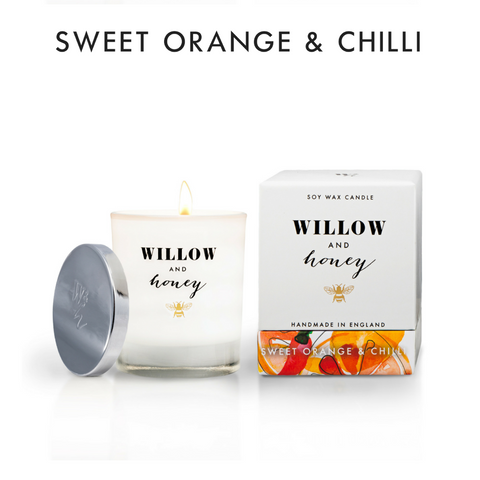 220g Sweet Orange & Chilli Candle