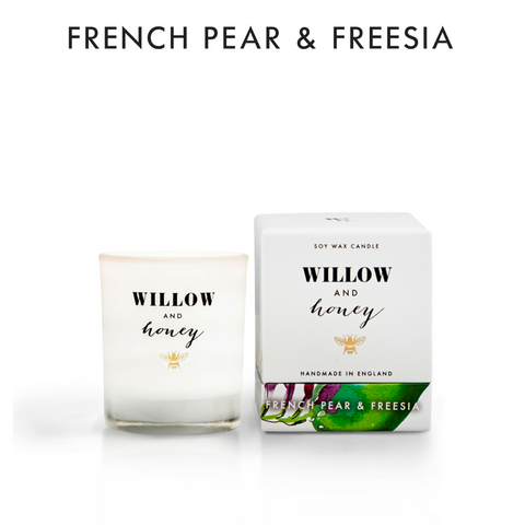 60g French Pear & Freesia Soy Candle
