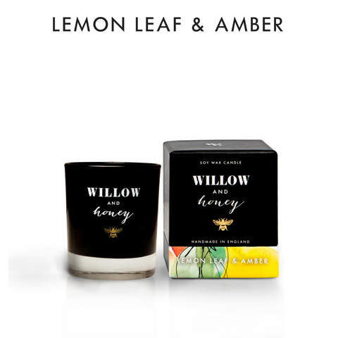 60g Lemon Leaf & Amber Candle