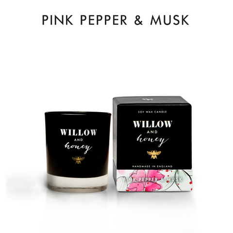 60g Pink Pepper & Musk Candle