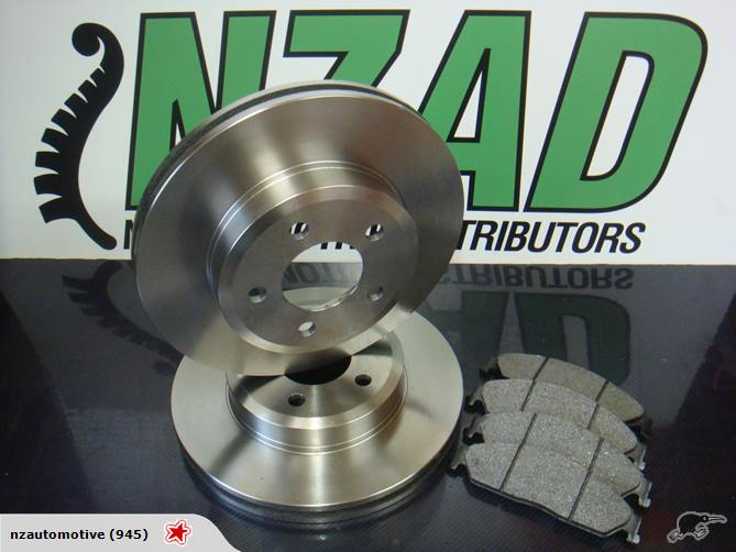 Ford Falcon 02+ BA BF Quality Brake Discs & Pads