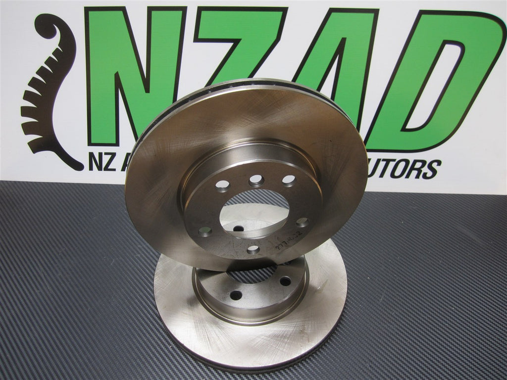 BMW E31 840I 840CI Front Disc Brake Rotors