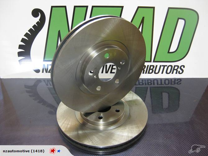 Land Rover Discovery 3 4.4l V8 Brake Disc Rotors
