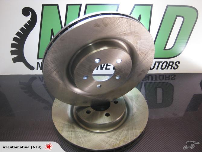 Chrysler Jeep Cherokee Front Disc Rotors