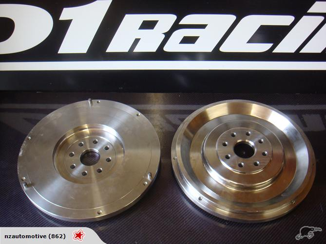 D1racing Toyota Lexus 1UZFE 1UZ V8 Billet Flywheel