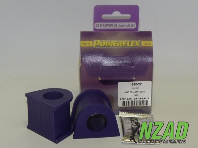 Powerflex Alfa Romeo 147 (00-10), 156 (97-07), GT (03-10) Front Anti Roll Bar Bush 22mm