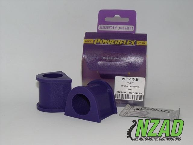 Powerflex Alfa Romeo 147 (00-10), 156 (97-07), GT (03-10) Front Anti Roll Bar Bush 26mm