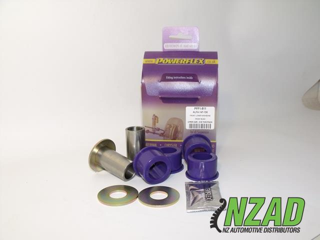 Powerflex Alfa Romeo 147 (00-10), 156 (97-07), GT (03-10) Front Lower Wishbone Front Bush