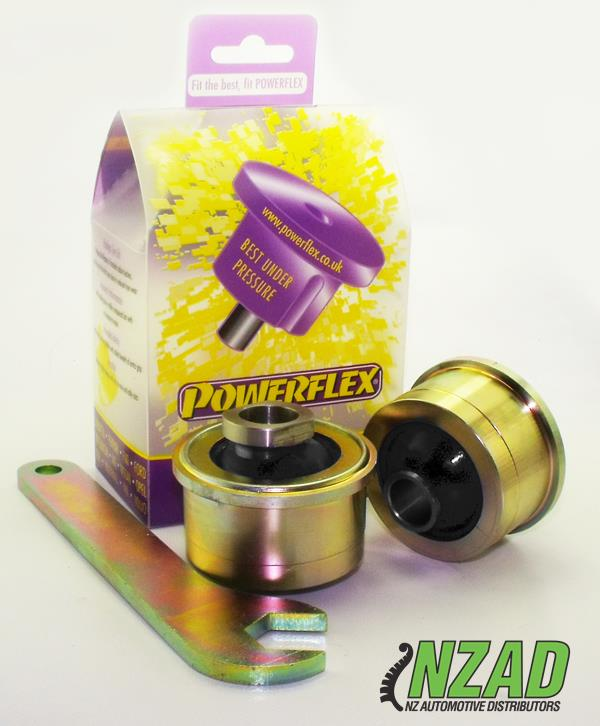 Powerflex Subaru Impreza including WRX & STi, (GH 10/07-12/10, GR 02/08-12/10) Anti Lift, Caster ADJUSTABLE Front Arm Rear Bush