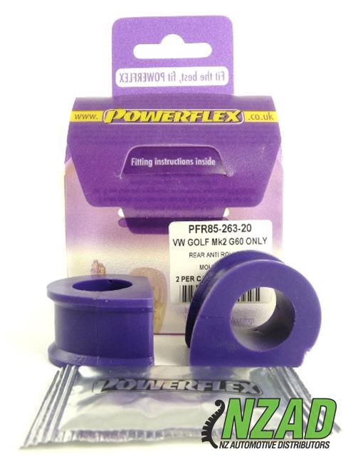 Powerflex Volkswagen GOLF MODELS Rear Anti Roll Bar Inner Bush 20mm
