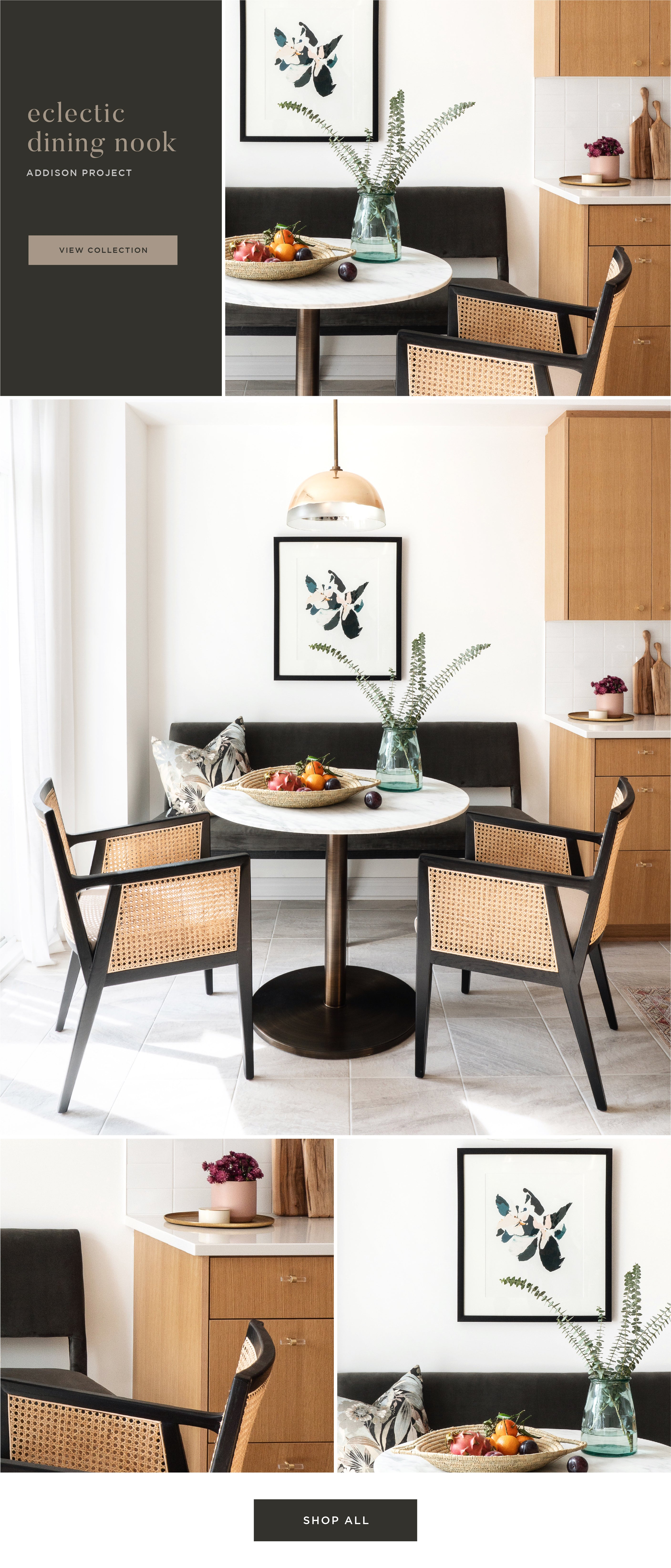 Shop the Look - Eclectic Dining Nook
