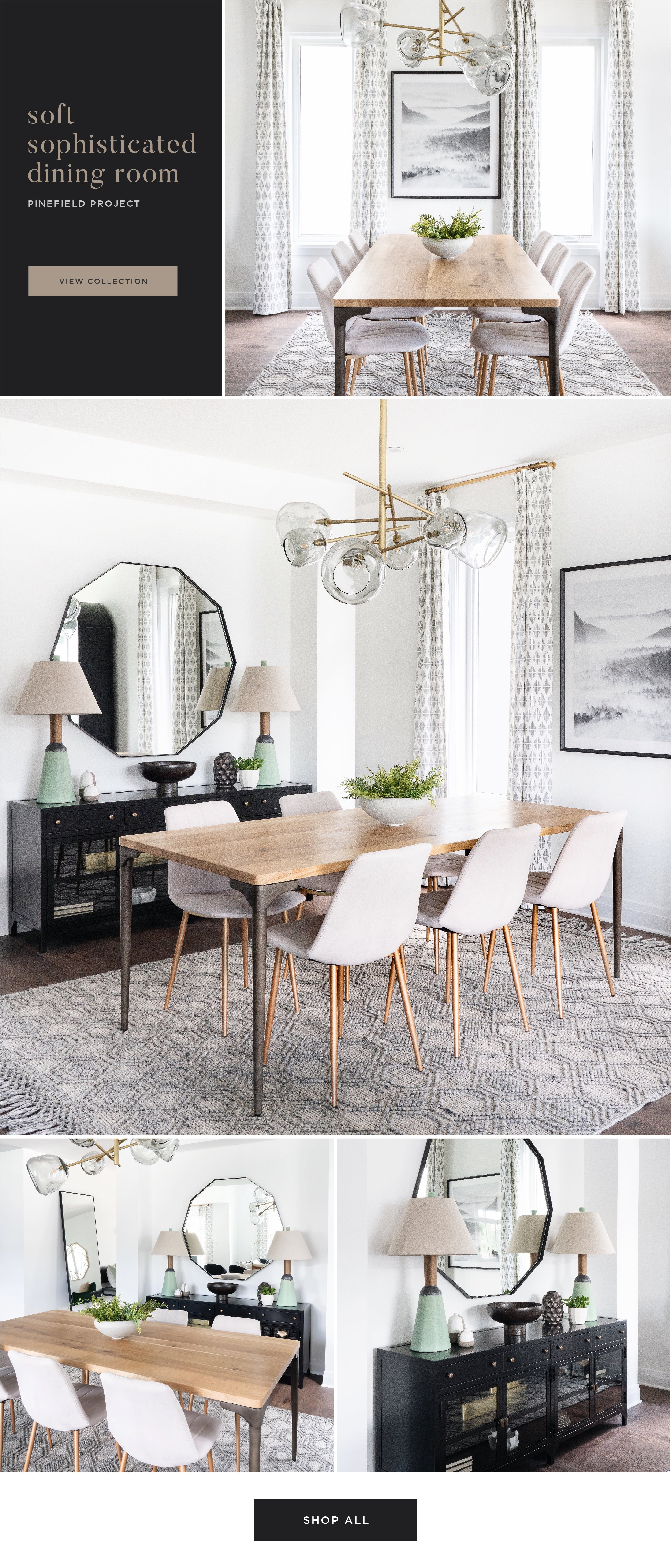Shop the Look - Soft Sophisticated Dining Room