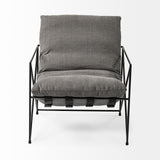 Leona Armchair - Grey