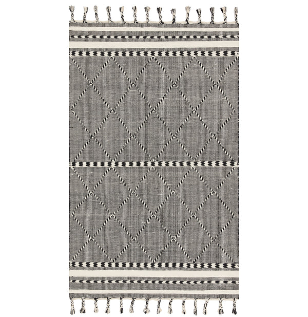 Sawyer Black Rug