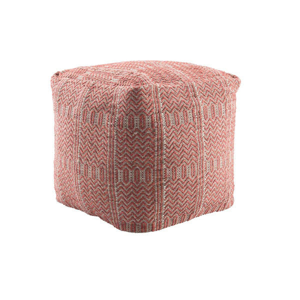 Peplin Pouf - Red