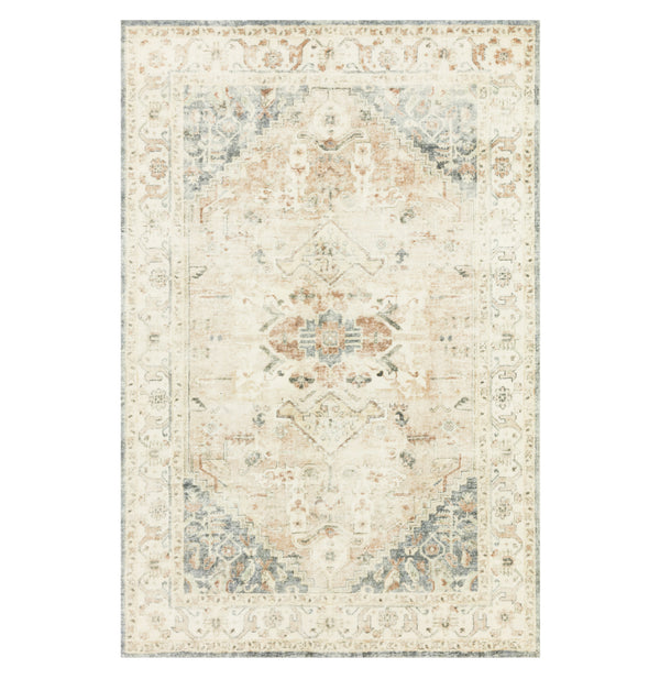 Rosette Clay/Ivory Rug