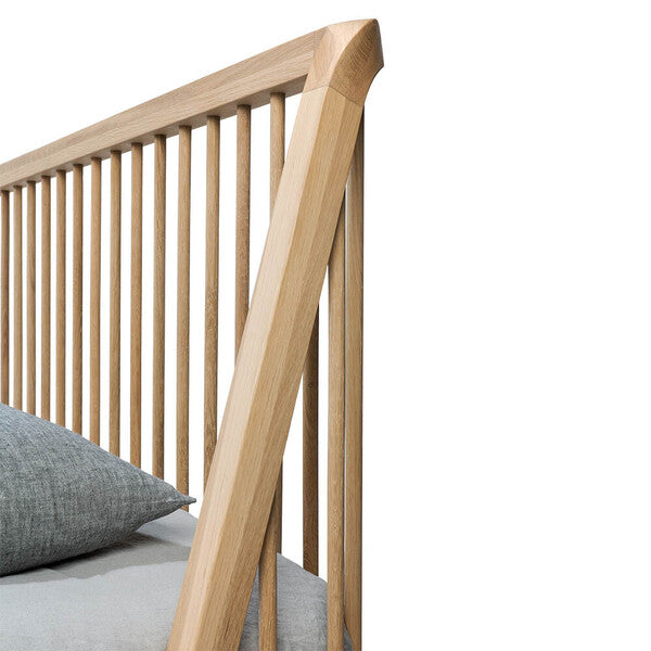 Oak Spindle Bed