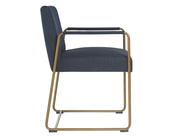 Garreth Dining Chair - Navy