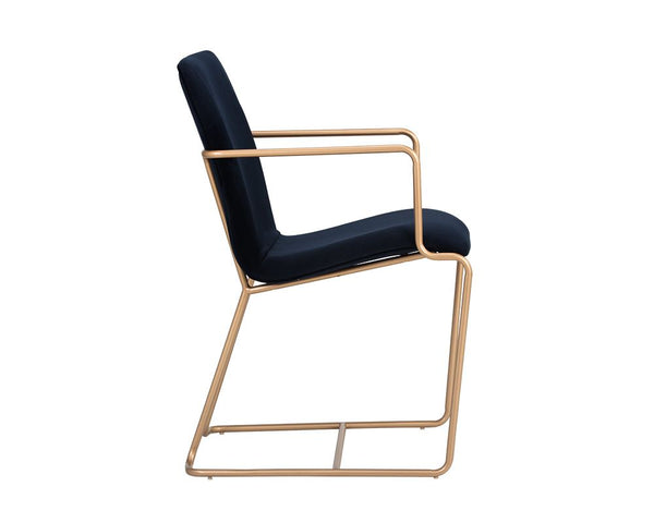 Zara Dining Chair - Navy