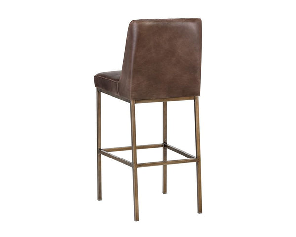 Leigh Bar Stool - Brown