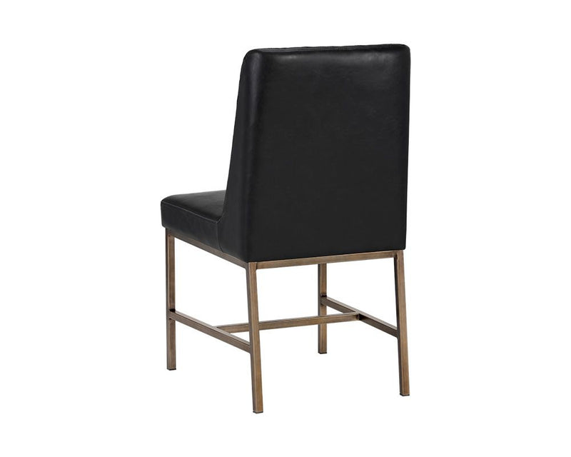 Leigh Dining Chair - Black