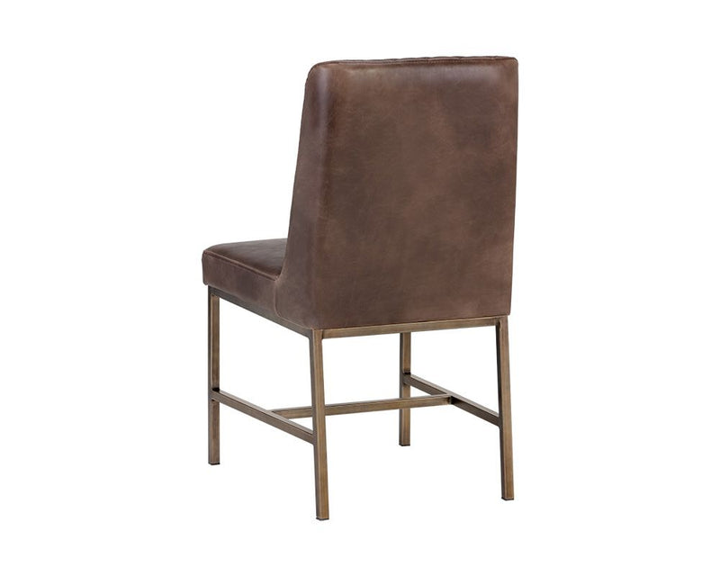 Leigh Dining Chair - Brown