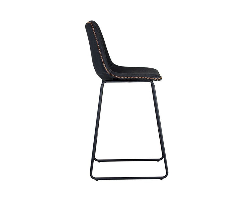 Nikki Counter Stool - Black