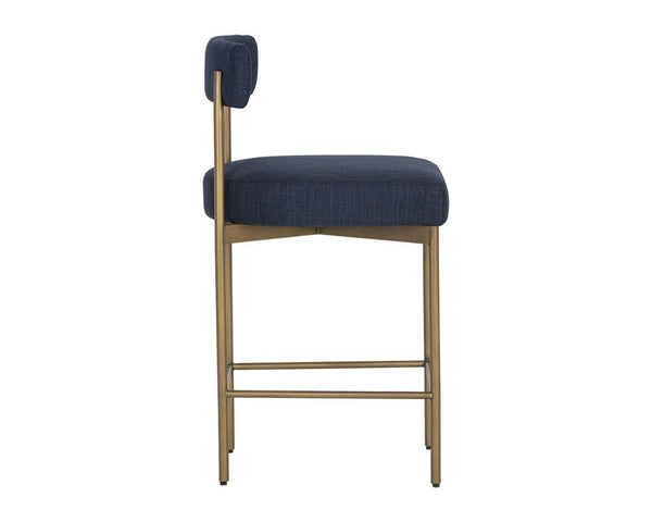 Ensley Counter Stool - Navy