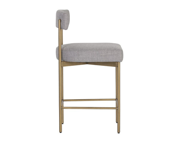 Ensley Counter Stool - Cement