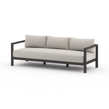 Massey Bronze Outdoor Sofa - Stone