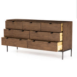 Banks 7 Drawer Dresser - Auburn