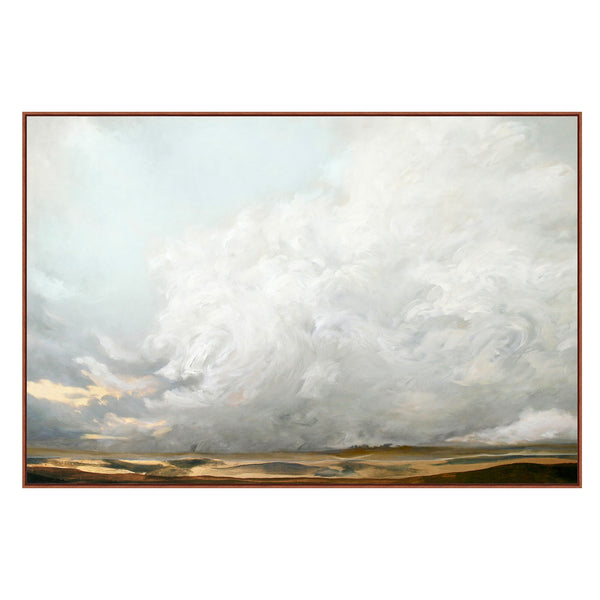 Stratus Formation Framed Canvas