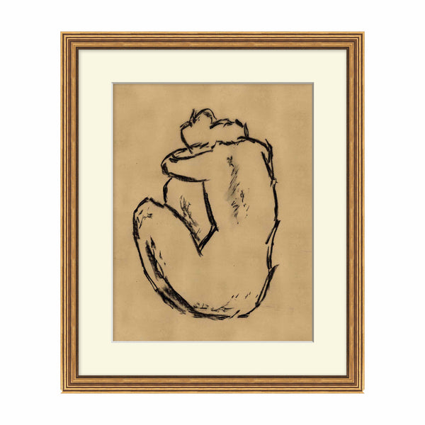 Folded Soul Framed Print