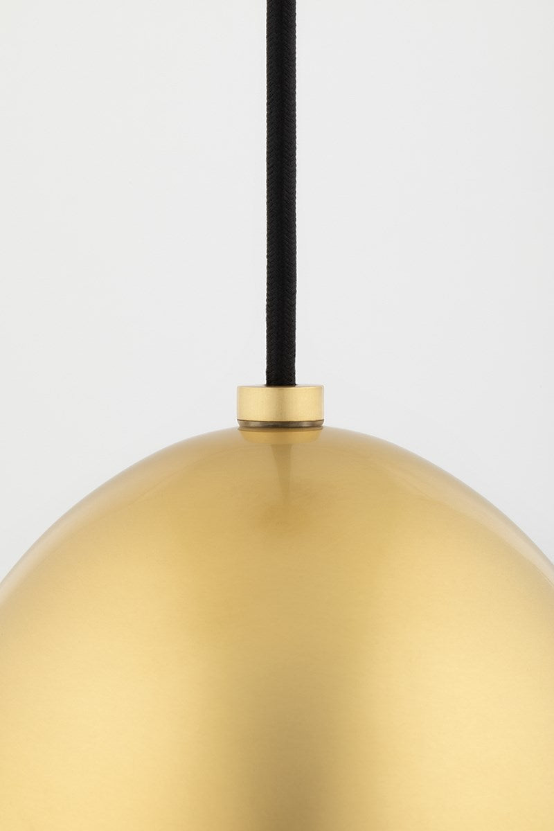 Orion Brass Pendant Large