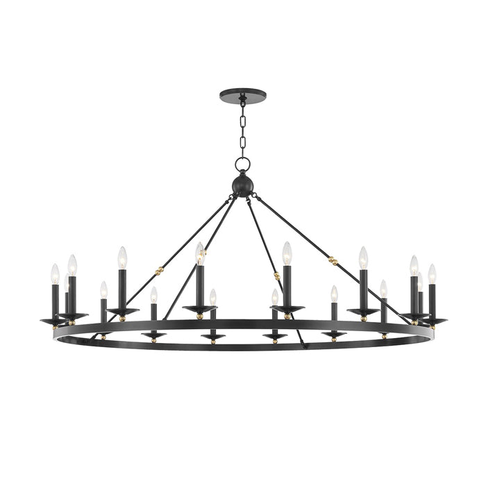 Allegra Chandelier - Oil Rubbed Bronze 58""