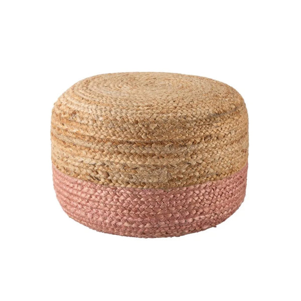 Mikada Short Pouf - Rose