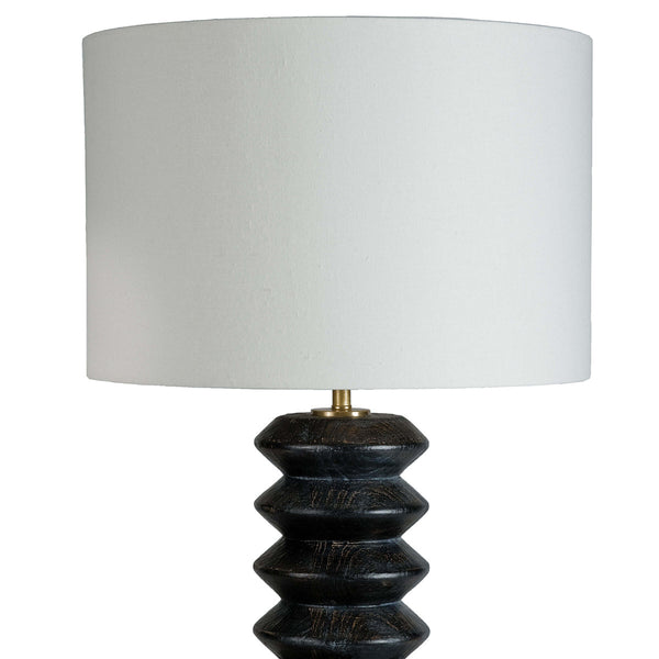 Kaylie Table Lamp Ebony